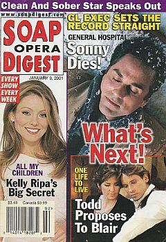 Soap Opera Digest Jan. 9, 2001