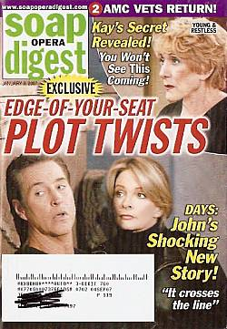 Soap Opera Digest Jan. 9, 2007