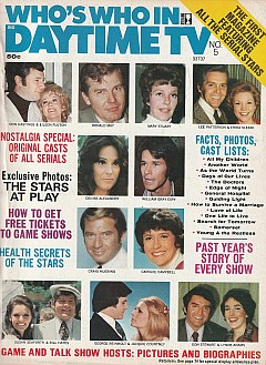 1974 Who's Who In Daytime TV