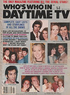 1978 Who's Who In Daytime TV soap opera magazine