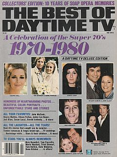 1979 issue of The Best of Daytime TV soap opera magazine 1970-1980