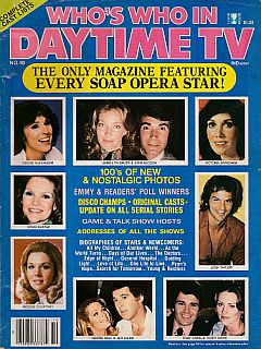 1979 issue of Who's Who In Daytime TV soap opera magazine