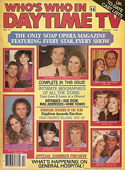1981 Who's Who In Daytime TV