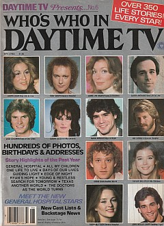 1982 Who's Who In Daytime TV