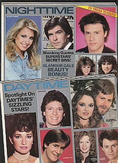 Rear Cover of 1983 Modern Screen's Who's Who In TV magazine