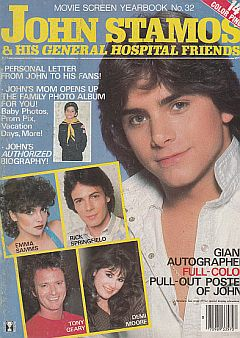 1983 issue of John Stamos & His General Hospital Friends magazine