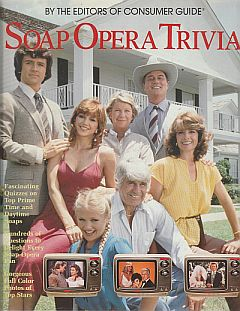 1985 hardcover issue of Soap Opera Trivia
