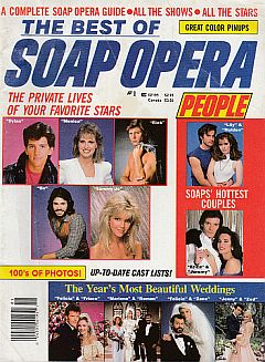 1987 issue of The Best Of Soap Opera People magazine