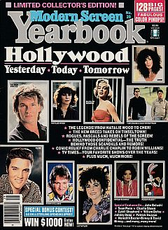 Modern Screen Hollywood Yearbook published in 1988