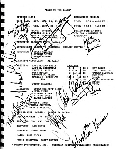 1989 Days Of Our Lives Script