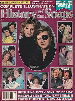 1989 issue of The Complete Illustrated History Of The Soaps magazine