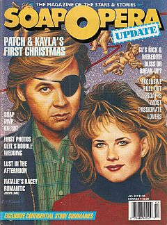 January 9, 1989 issue of Soap Opera Update magazine
