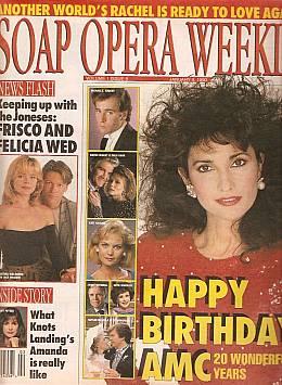 Soap Opera Weekly - January 9, 1990