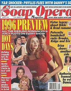 Soap Opera Magazine January 9, 1996