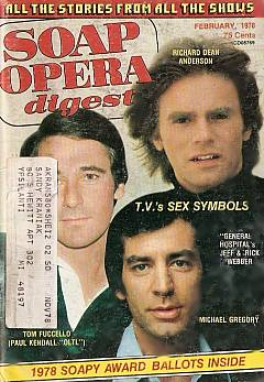 February 1978 issue of Soap Opera Digest