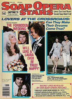 Soap Opera Stars February 1982