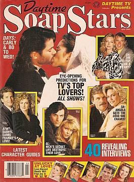 Daytime Soap Stars February 1992
