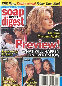 Soap Opera Digest Feb. 10, 2004