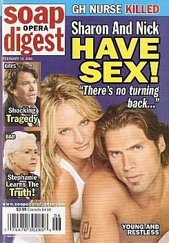 Soap Opera Digest February 10, 2009