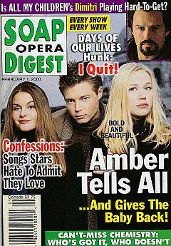 Soap Opera Digest - February 1, 2000