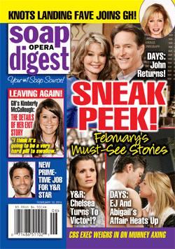 Soap Opera Digest Feb. 10, 2014