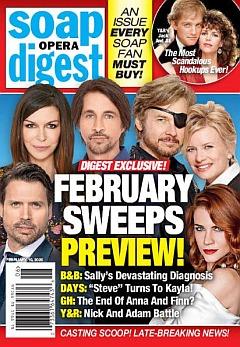 Soap Opera Digest February 10, 2020