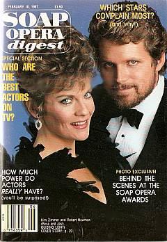 Soap Opera Digest February 10, 1987