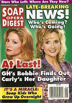 Soap Opera Digest - February 10, 1998