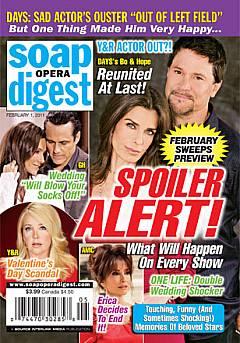 Soap Opera Digest February 1, 2011