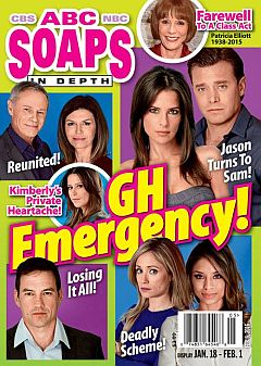February 1, 2016 issue of ABC Soaps In Depth soap opera magazine