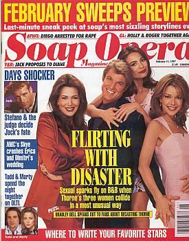 Soap Opera Magazine February 11, 1997