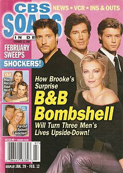 February 12, 2002 issue of CBS Soaps In Depth magazine