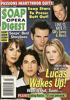 Soap Opera Digest Feb. 12, 2002