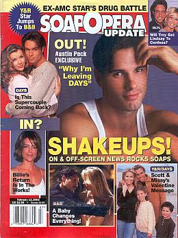 Soap Opera Update February 12, 2002