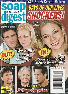 Soap Opera Digest February 12, 2008