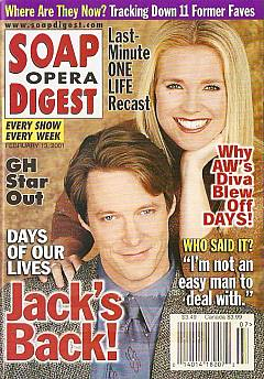 Soap Opera Digest Feb. 13, 2001