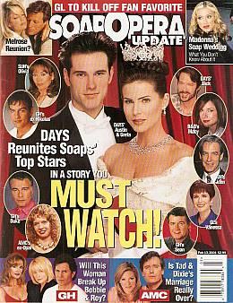 Soap Opera Update February 13, 2001