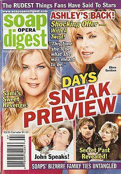 Soap Opera Digest Feb. 13, 2007