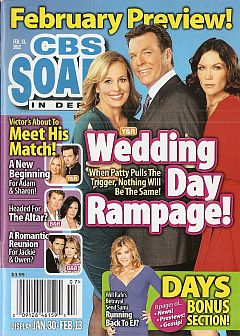February 13, 2012 issue of CBS Soaps In Depth magazine
