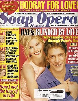 Soap Opera Magazine February 13, 1996