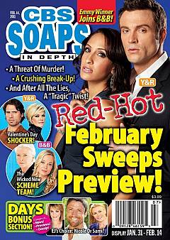 CBS Soaps In Depth February 14, 2011