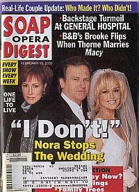 Soap Opera Digest - February 15, 2000