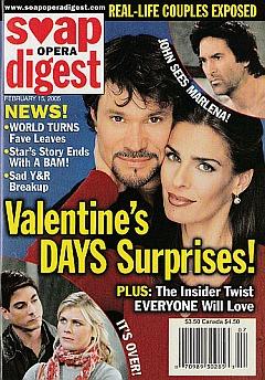Soap Opera Digest Feb. 15, 2005