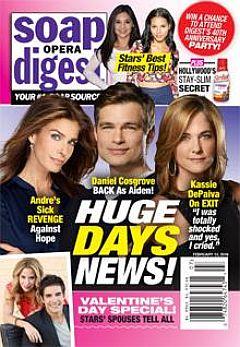Soap Opera Digest Feb. 15, 2016