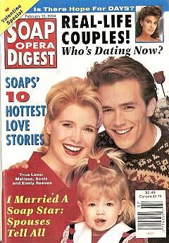 Soap Opera Digest - February 15, 1994