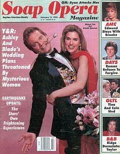 Soap Opera Magazine February 15, 1994