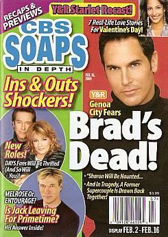 CBS Soaps In Depth February 16, 2009