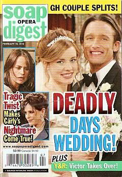 Soap Opera Digest February 16, 2010