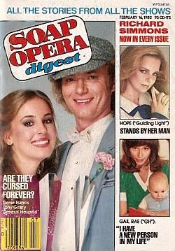 Soap Opera Digest - February 16, 1982