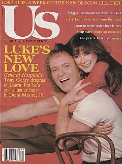 US Magazine February 16, 1982